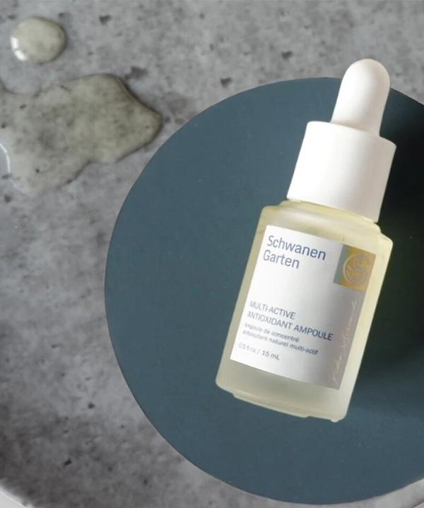 Антиоксидантная сыворотка для лица Schwanen Garten Multiactive Antioxidant Ampoule (15 ml)