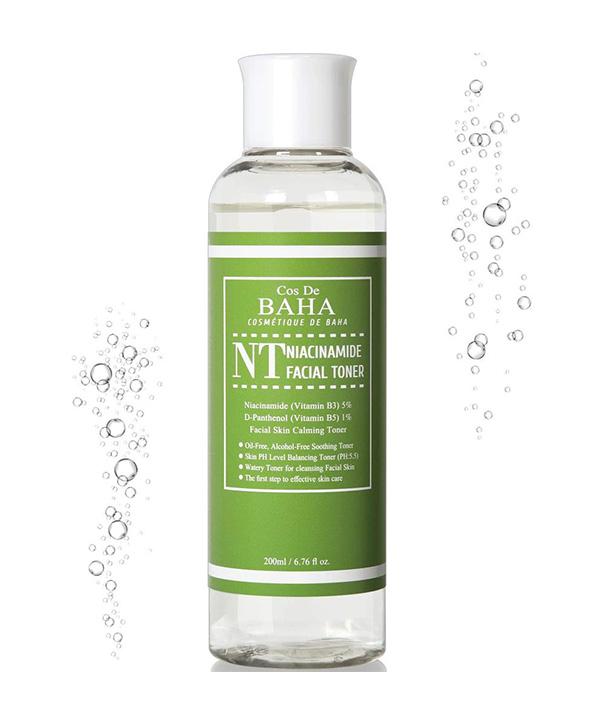 Тонер для сужения пор и снятия воспалений Cos De BAHA Niacinamide Toner (200 ml)