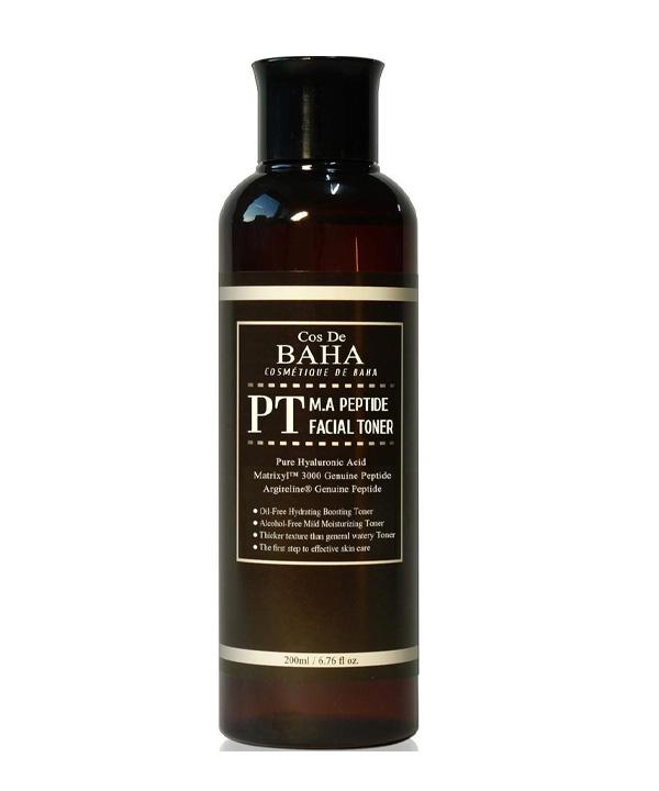 Тонер с пептидами для молодости кожи Cos De BAHA Matrixyl 3000 Argireline (200 ml)