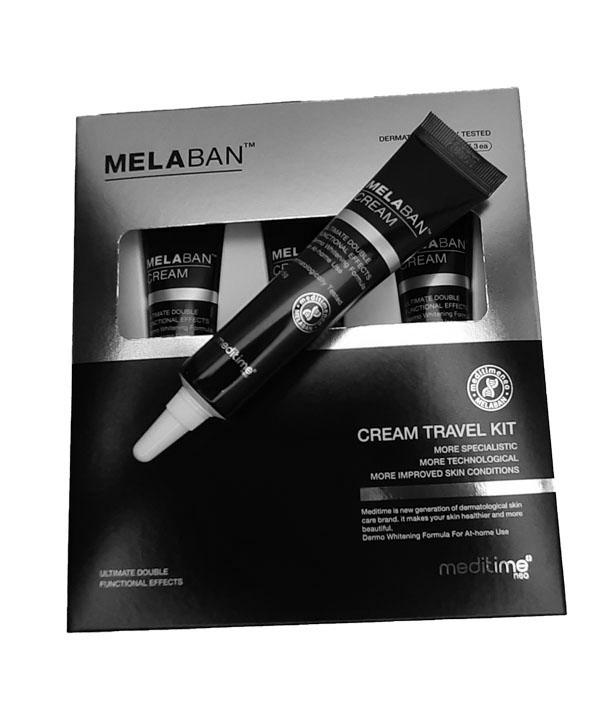 Дорожный набор против пигментации Meditime Melaban Cream (3х15g)
