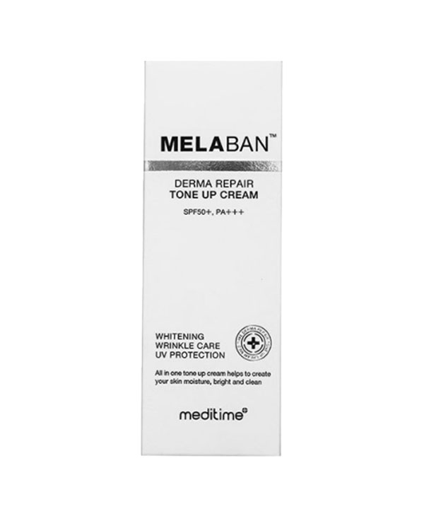 Восстанавливающий крем против пигментации Meditime Melaban Derma Repair Tone Up Cream SPF 50+ PA+++ (30 ml)