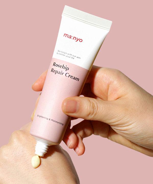 Питательный крем Маньо для сияния кожи лица Manyo Rosehip Repair Cream (50 ml)