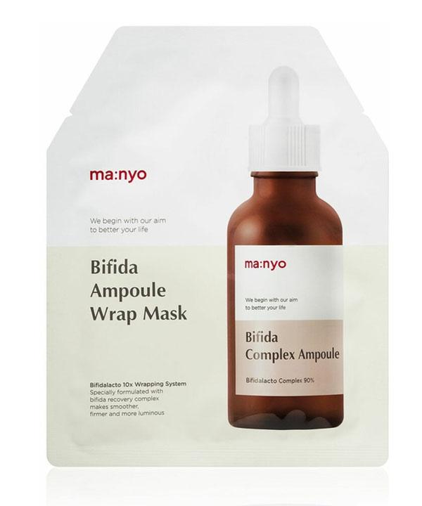 Восстанавливающая маска Маньо с лифтинг эффектом Manyo Bifida Ampoule Wrap Mask (30g)