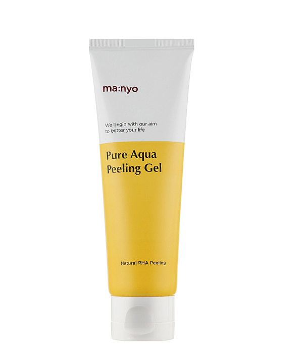 Мягкий очищающий гель-пилинг от Маньо — Manyo Pure Aqua Peeling Gel (120 ml)