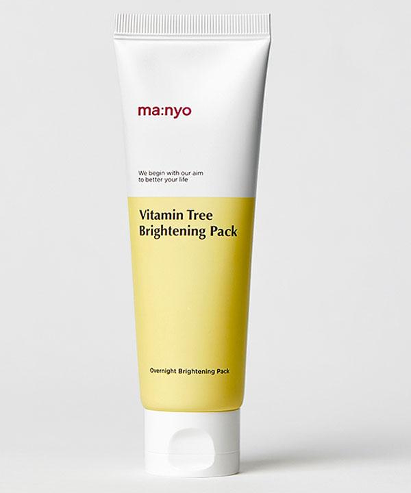 Осветляющая ночная маска с витаминами и медом Manyo Vitamin Tree Brightening Pack (75 ml)