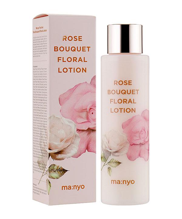 Увлажняющий лосьон с цветочными экстрактами Manyo Rose bouquet floral lotion (155 ml)