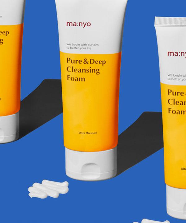 Пенка для глубокого очищения пор Manyo Pure Deep Cleansing Foam (100 ml)