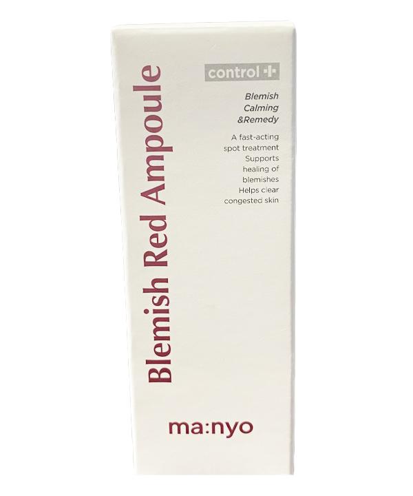 Сыворотка от воспалений и покраснений Manyo Blemish Red Ampoule (30 ml)