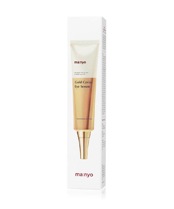 Сыворотка Маньо с золотом от морщин и темных кругов под глазами Manyo Gold Caviar Eye Serum (30 ml)