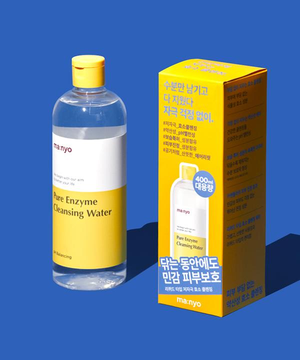 Энзимная очищающая вода Manyo Pure Enzyme Cleansing Water (400 ml)