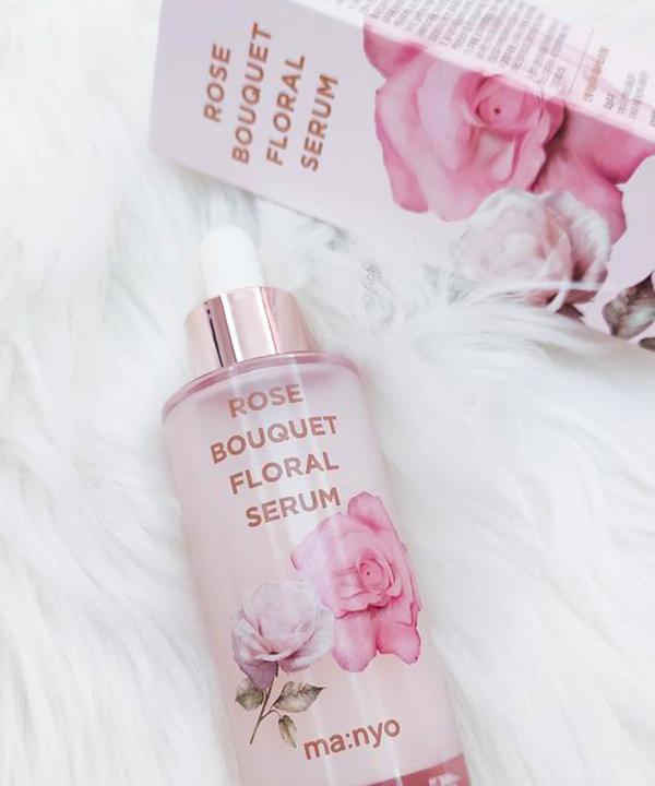 Увлажняющая цветочная сыворотка Manyo Rose bouquet floral serum (50 ml)