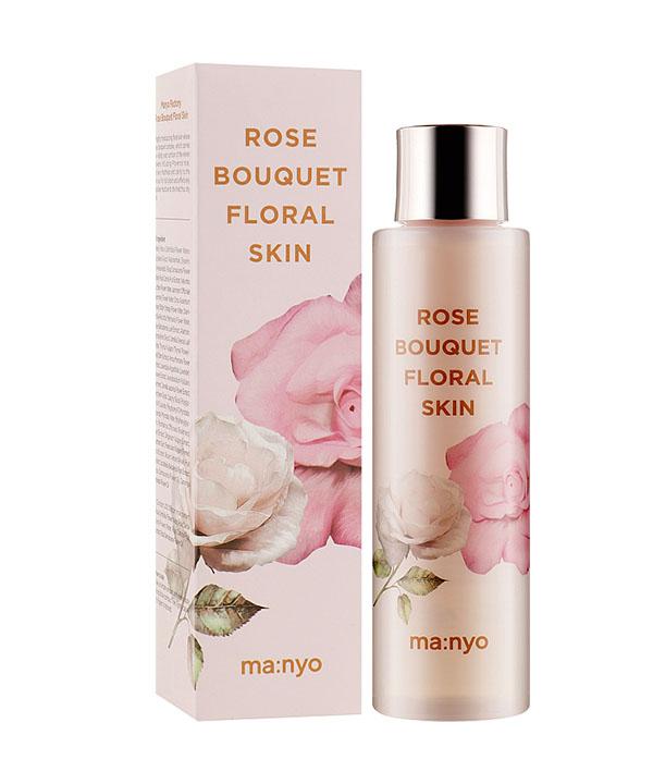 Увлажняющий цветочный тоник Manyo Rose Bouquet Floral Skin (155 ml)