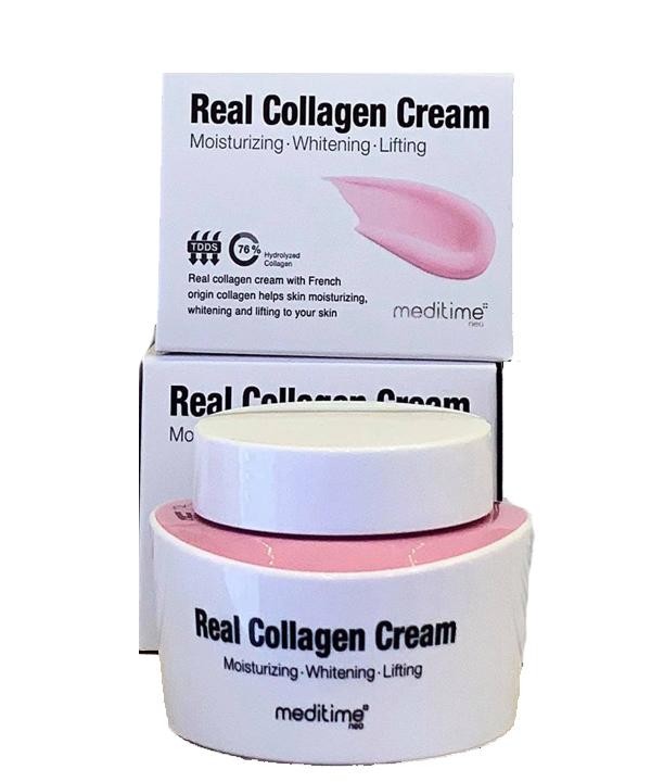 Умный лифтинг — крем для лица с коллагеном Meditime NEO Real Collagen Cream 50 ml