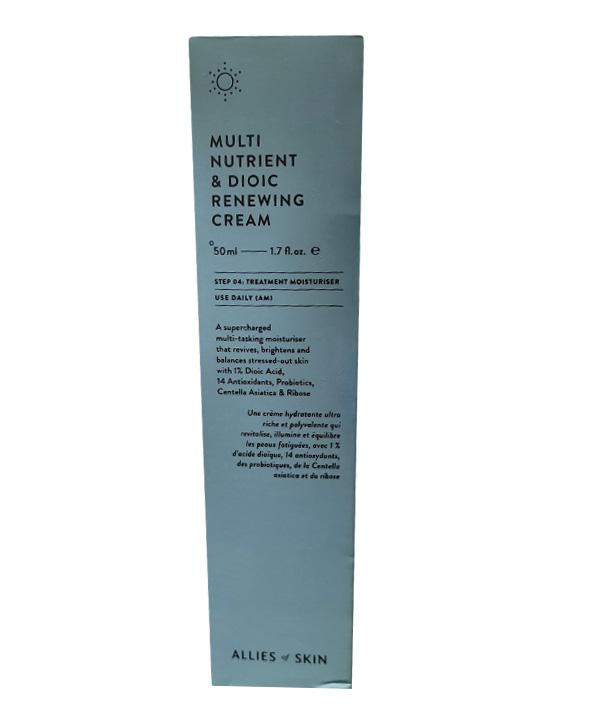 Мульти – питательный дневной крем Allies of skin Multi Nutrient & Dioic Renewing Сream (50 ml)