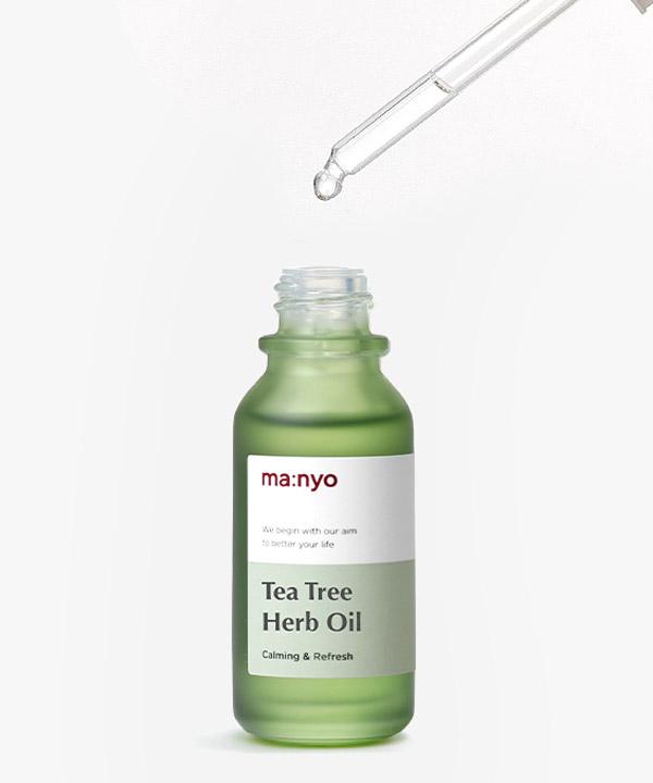 Масло от воспалений Manyo Tea Tree Herb Oil (20 ml)