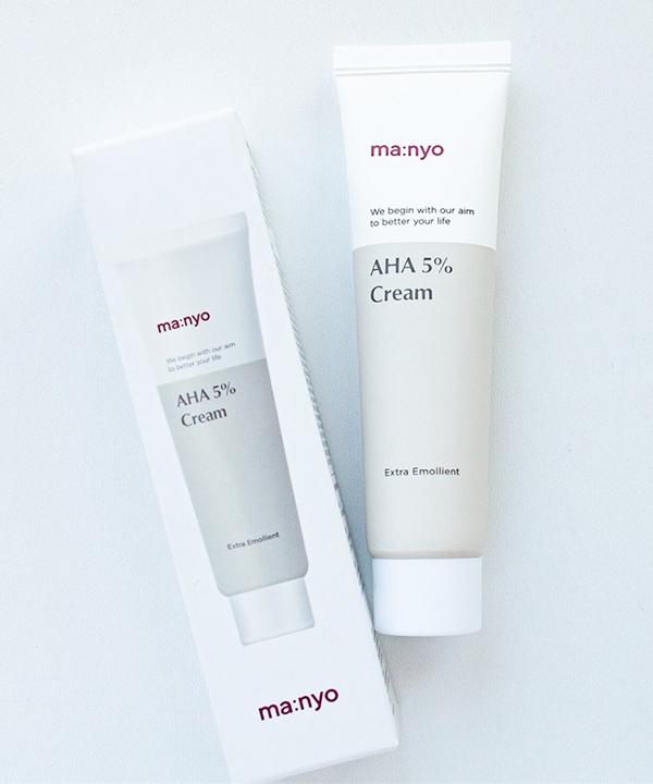 Увлажняющий крем с кислотами от темных пятен 5% Manyo Aha Cream (30 ml)