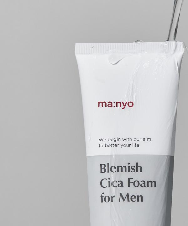 Пенка Маньо для умывания 3-в-1 для мужчин Manyo Bleimish Cica Foam For Men (120 ml)