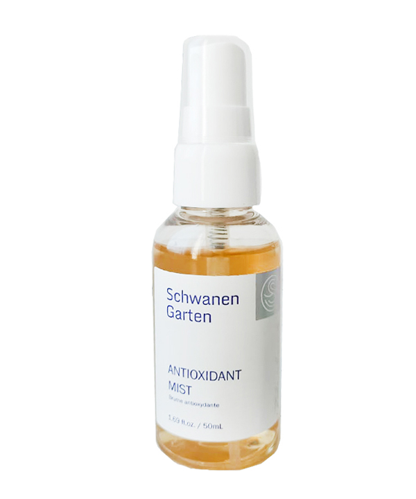 Антиоксидантный спрей для лица (тревел-формат) Schwanen Garten Antoixidant Mist (50 ml)