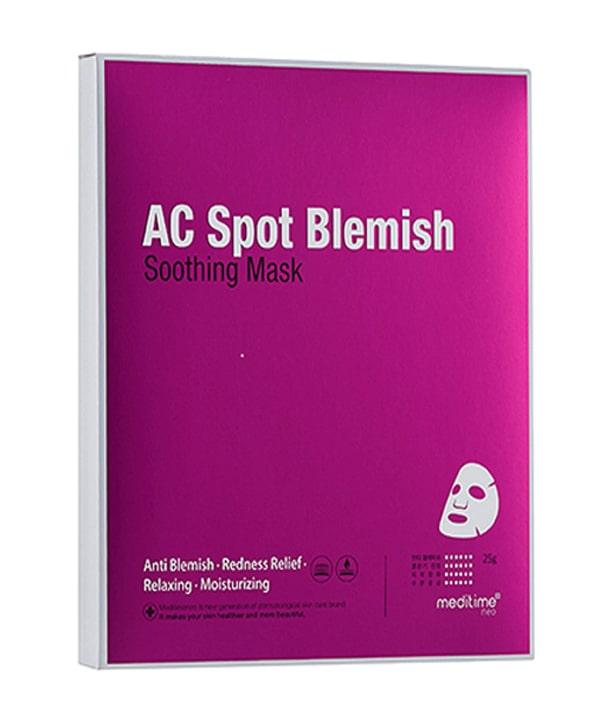 Успокаивающая маска против воспалений Meditime Ac Spot Blemish Soothing Mask