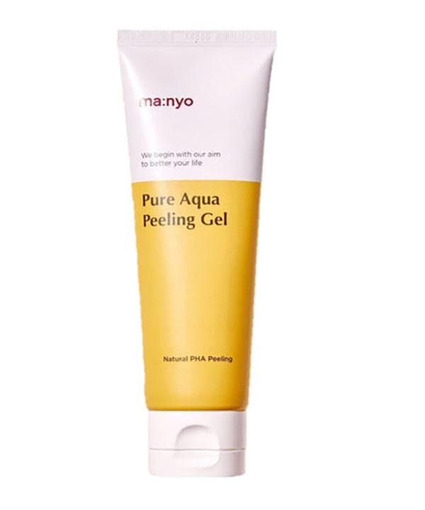 Мягкий пилинг — гель для сияния кожи Manyo Pure Aqua Peeling Gel (120 ml)