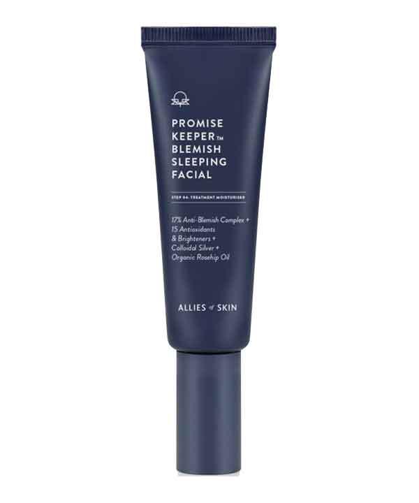 Ночная очищающая маска для лица Allies of Skin Promise Keeper Blemish Sleeping Facial (50 ml)