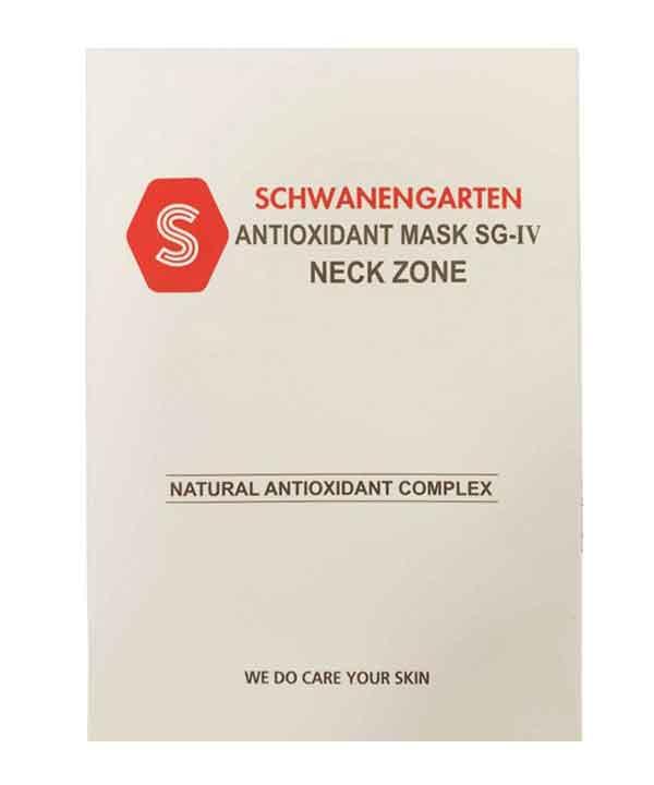 Антиоксидантная маска для зоны шеи Schwanen Garten Neck Zone Antioxidant Mask SG-IV (85g)