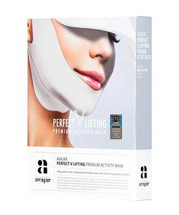 """Лифтинговая маска """"Activity"""" с SPF защитой Avajar perfect V lifting premium activity mask"""