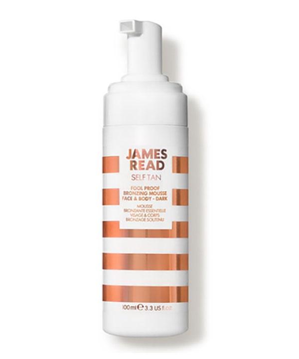 Бронзирующий мусс для новичков – темный James Read Fool Proof Bronzing Mousse (100 ml)