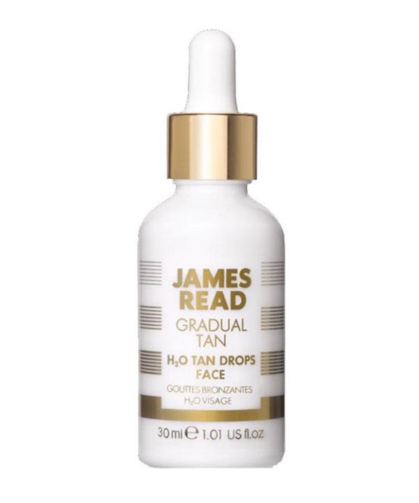 Капли – концентрат освежающее сияние H2O James Read Tan Drops Face (30 ml)