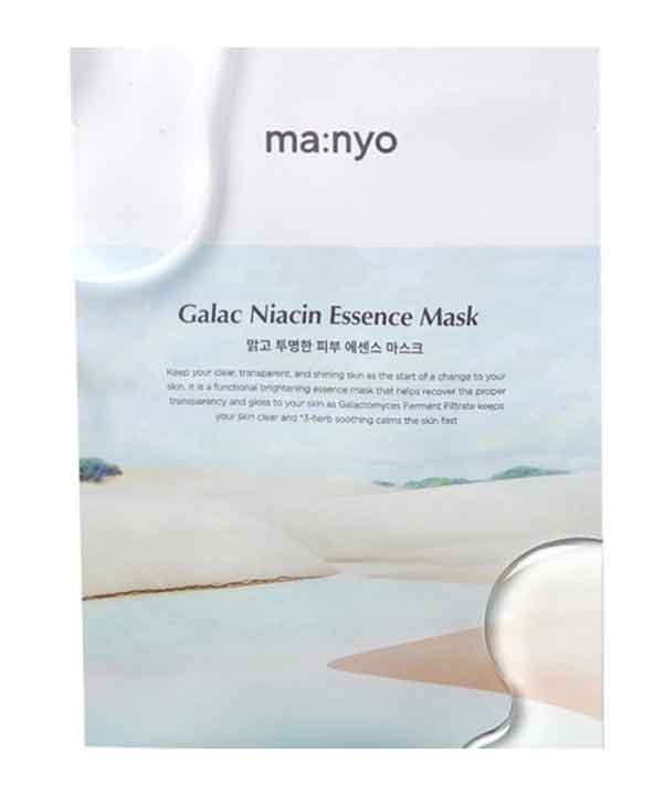 Тканевая маска против жирного блеска и расширенных пор Manyo Galac Niacin Essence Mask (30g)