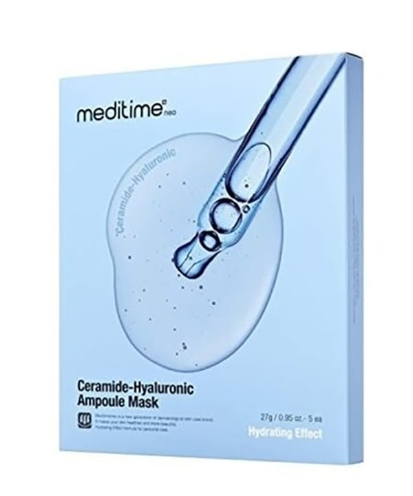 Увлажняющая маска с керамидами Meditime Ceramide-Hyaluronic Ampoule Mask