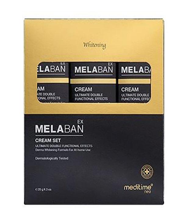 Дорожный набор против пигментации Meditime Melaban Cream (1х30 g)