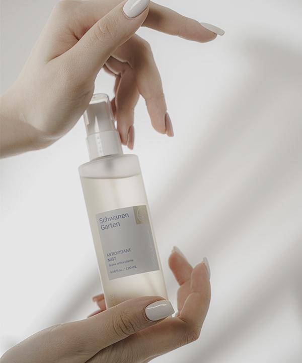 Антиоксидантный спрей для лица Schwanen Garten Antioxidant Mist (120 ml)