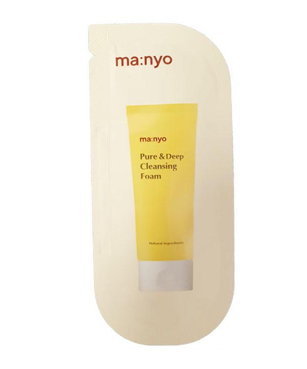 Пенка для глубокого очищения пор (пробник) Manyo Pure Deep Cleansing Foam (2 ml)