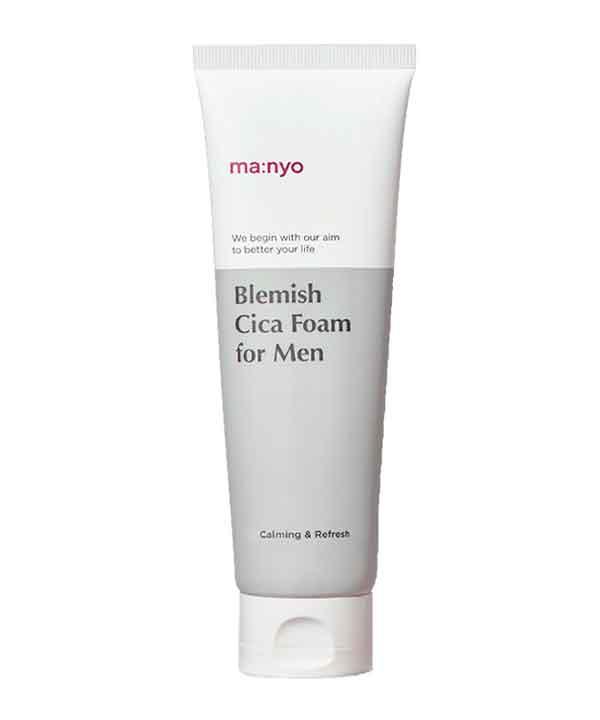 Пенка для умывания 3-в-1 для мужчин Manyo Bleimish Cica Foam For Men (120 ml)