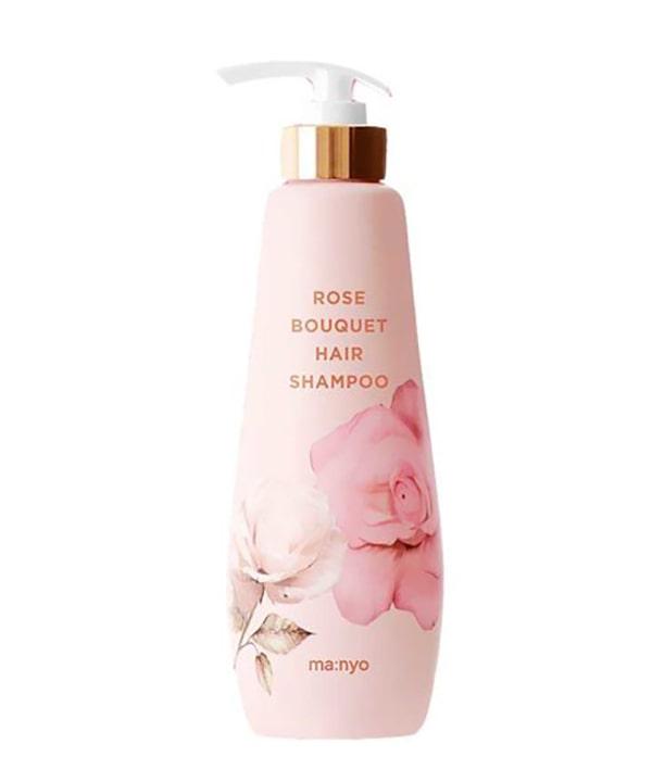 Шампунь против выпадения волос с ароматом розы Manyo Rose Bouquet Hair Shampoo (500 ml)