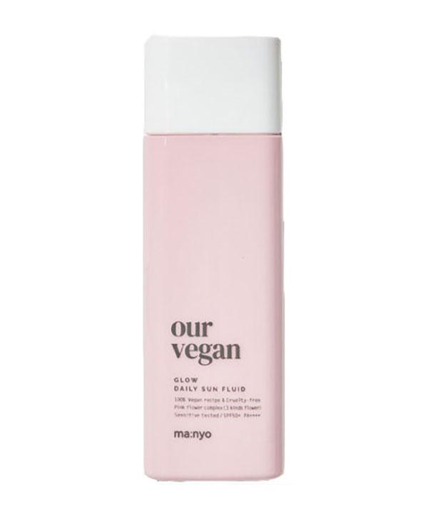 Солнцезащитный крем Manyo Our vegan sun cream glow (50 ml)