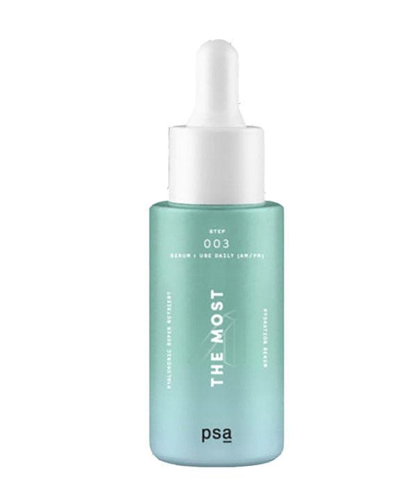 Суперпитательная увлажняющая сыворотка с пантенолом и гиалуроновой кислотой PSA The Most Hyaluronic super nutrient hydration serum (30 ml)