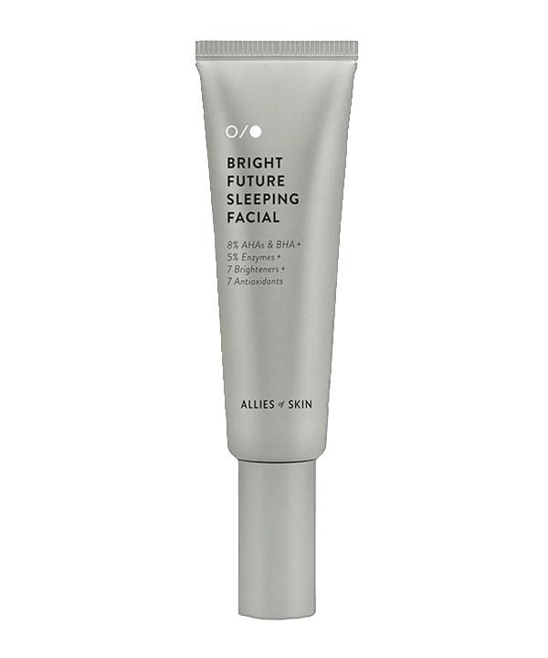 Увлажняющий пилинг — гель для лица Allies of Skin Bright Future Sleeping Facial (50ml)
