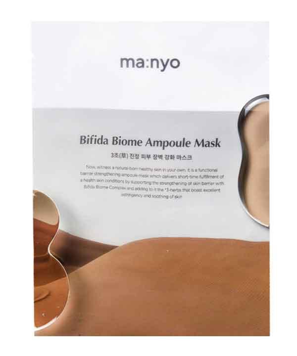 Восстанавливающая маска Manyo Bifida Biom Ampoule Mask (30g)