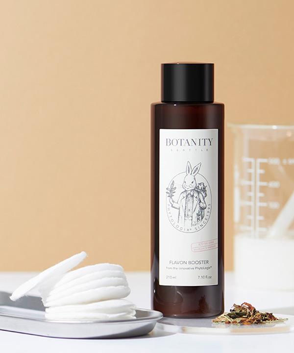 Гипоаллергенный отшелушивающий тоник для чувствительной кожи – Botanity Flavon Booster (210 ml)