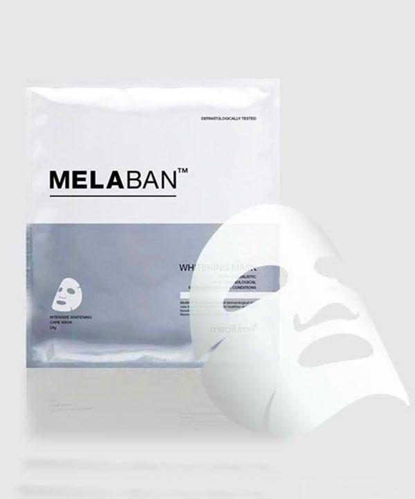 Осветляющая маска для лица Meditime Melaban Whitening Mask (24 g)