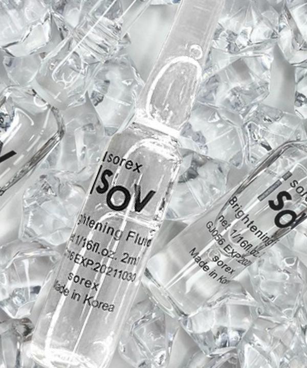 Сыворотка сияние и осветление тона кожи Isov Sorex Brightening Booster Ampoule (2 ml)