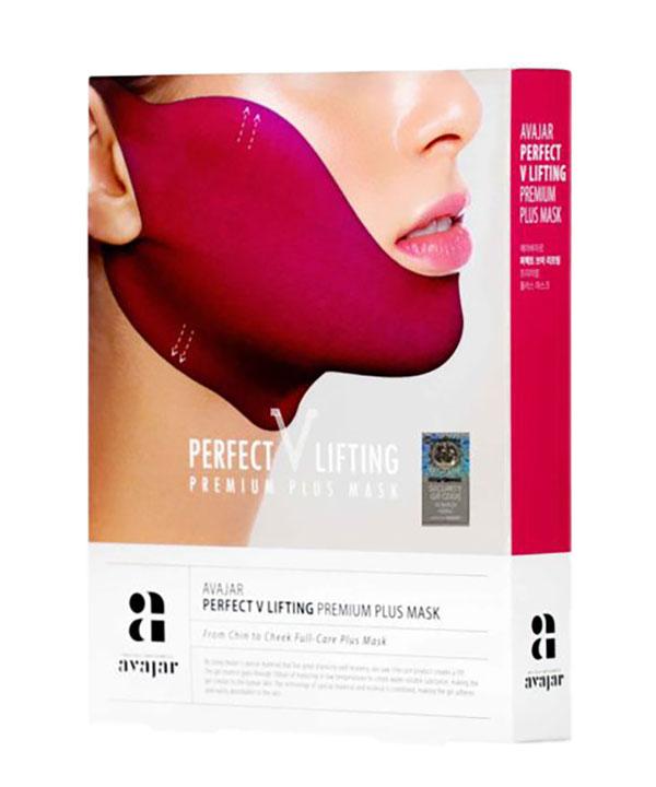 Лифтинговая маска Плюс Avajar perfect V lifting premium plus mask