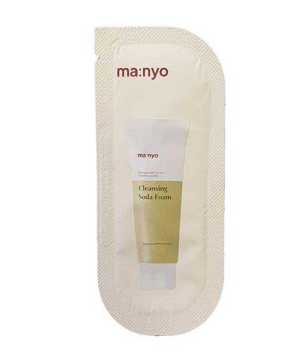 Пенка для жирной и комбинированной кожи Manyo Cleansing Soda Foam (2 ml)