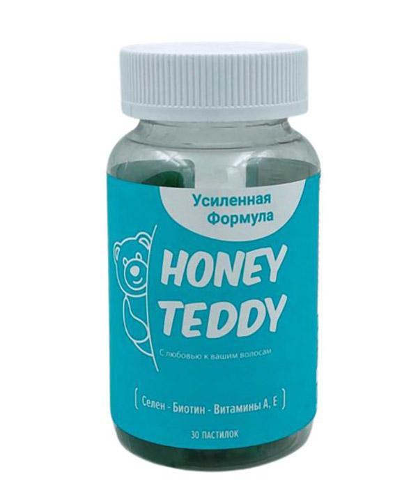 Пастилки для роста и здоровья волос Honey Teddy