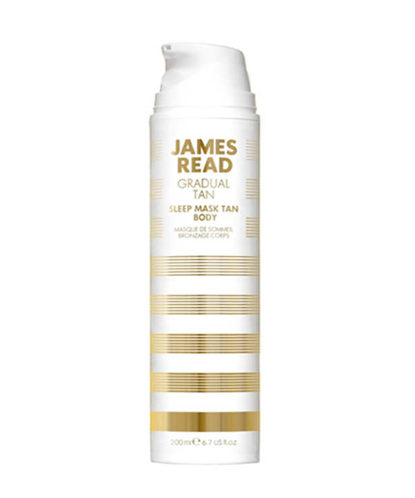 Ночная маска для тела уход и загар James Read Sleep mask tan body (200 ml)