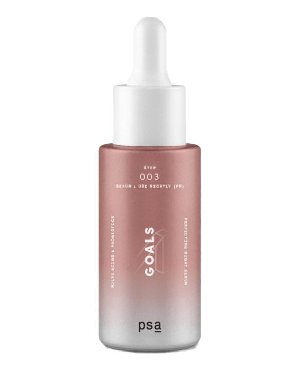 Ночная мультикислотная сыворотка с пробиотиками PSA GOALS Multi Acids & Probiotics Perfecting Night Serum (30 ml)