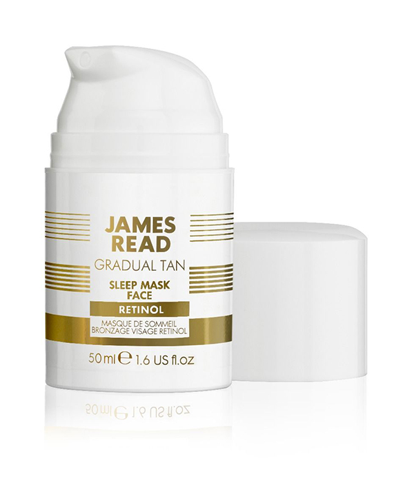 Ночная маска уход и загар с ретинолом James Read Sleep mask face with retinol ( 50ml)