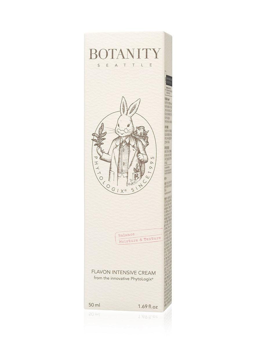 Успокаивающий питательный крем для чувствительной кожи Botanity Flavon Intensive Cream (50 ml)